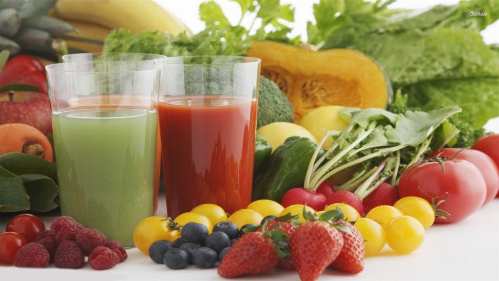 здоровое питание меню